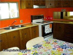 Cozy kitchen with all amenities.