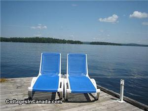 Chaise Lounges - On Floating Dock