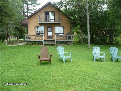 Lakeside Park Cottages - 2, 3, 4 Bedroom cottages on Shadow Lake in the Kawarthas