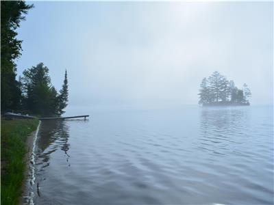 The Point Cottage w/ boat! Quiet, Peaceful and you can't beat the view! Sleeps 4 - $595 week