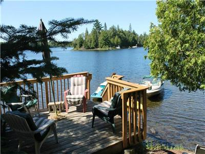 Secluded with Treed Privacy on Spring Lake