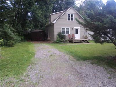 Wildwood Cottage-Available monthly from Sept-June -$1,250. Huge wooded yard & firepit