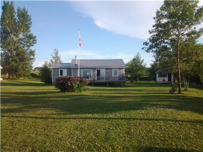 Beachfront Home - North Shore (Malagash), close to Tatamagouche & Wallace;