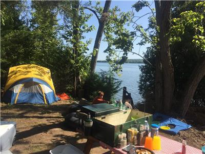 LAKESIDE TENTING SITES: Includes fleet of Fun Boats