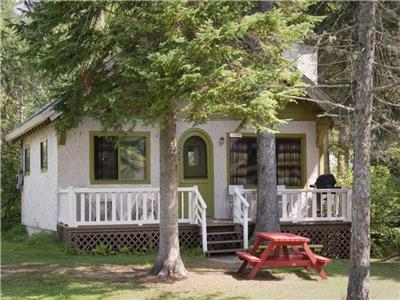 10 COTTAGES FOR SHORT TERM RENTALS on 2 acres - 2 by the lake, 8 around the heated pool and jacuzzi