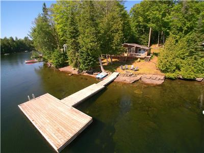 Chandos Lake Cottage Rental