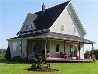 4 Bdrm Country Home, 10km West of Summerside