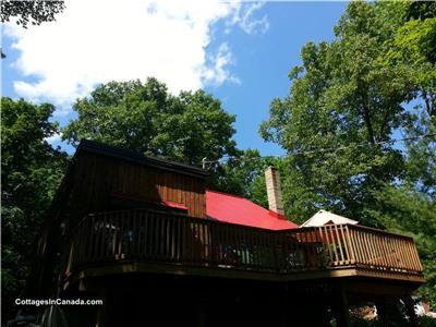 Peakscottage Cottage Rental Calabogie max 4 adults. 4 minutes from the Calabogie Lake Beach