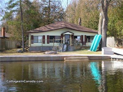 cottage rental 10 min from Lakefield,Katchewanooka lake, Kawartha/Peterborough