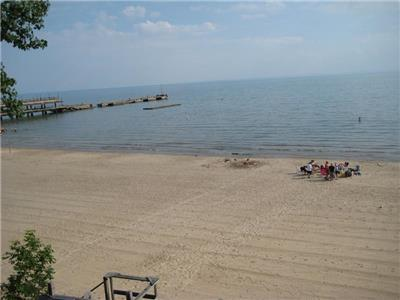 Beach Haven- Across from Crystal Beach main entrance. We rent weekly, 5 weeknights & weekends.