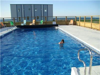 5 minutes from Shediac, luxury condo for rent.  Vacancy July 01- 08  $1100.00