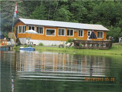 Quiet Lakefront Cottage in Cawood, QC  **FOR SALE + RENTAL**