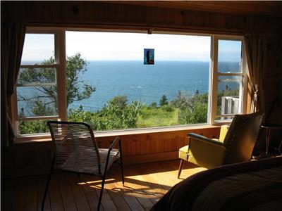 FUNDY GETAWAY: Secluded cottage with 1,690 feet of ocean frontage and 47 wooded acres in Nova Scotia