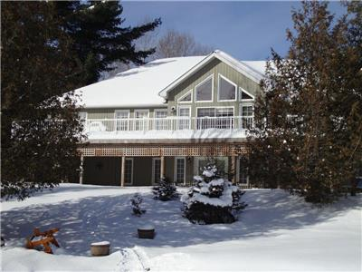 Halfmoon Paradise Cottage -Luxurious Lake House with a breath-taking view near Haliburton Village