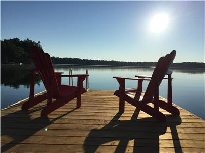 Lakehouse, 4 bedroom, 2.5 bath, sleeps 9, muskoka lakes