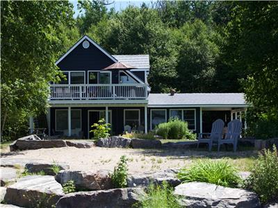 Diamond Haven, 3 bedroom, 1 bath, modern waterfront cottage on pristine Ahmic Lake in Magnetawan, ON