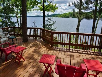 Western Exposure, Great privacy, Amazing Views of Papineau Lake, (416)