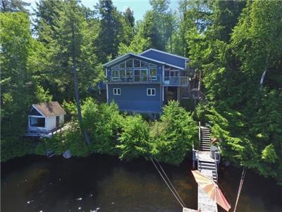 (422) Eels Lake! 3 bedroom cottage with an amazing view.