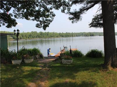 Head Lake | Clean Warm Water | Great Fishing | 100' Level Granite Rock Waterfront | Level Lot