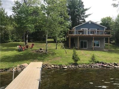 Cottage on Paudash Lake in Bancroft Beautiful sand beach waterfront