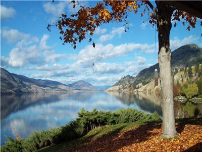 Welcome to Skaha Yellow House in Penticton.  3 bed 2 bath home across the road from Skaha Lake.