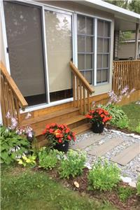 Two bedroom cottage in resort close to Sandbanks in Prince Edward County