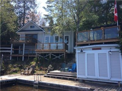 Hawklee Cottage - Booking into 2021 Kawarthas Upper Stoney Lake 6 Bedroom 4 Season Vacation Rental