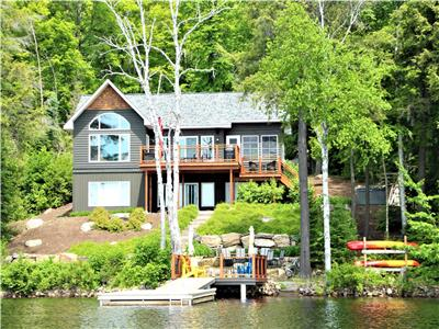 Luxurious designer cottage on expansive, pristine Kennisis Lake