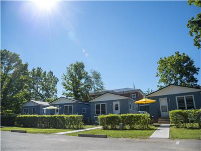 Dover Sands Cottages in the heart of Port Dover....One block from the beach!