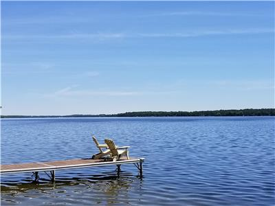 Balsam Lake Waterfront Cottage in Prime Location