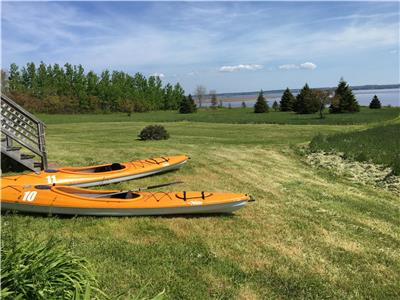 2 Kayaks and 9 Acres of Private Waterfront in Fox Harbour - July 18 - 25 now open