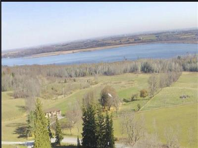 Breathtaking Waterfront Views For Miles - 93 arce farm land with hills, ponds, creek, lake and cows