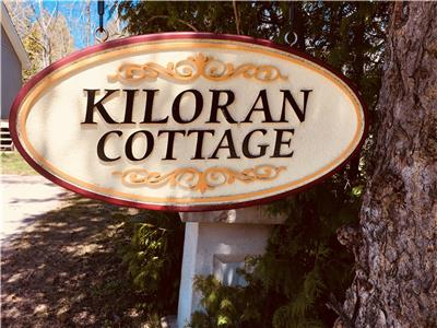 KIloran Cottage in the village of Tobermory