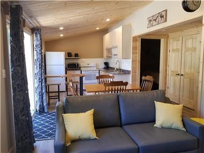 EARLY BIRD SUMMER DEAL - NEWLY RENOVATED luxurious 2-Bdrm Cottage in Algonquin Highlands!