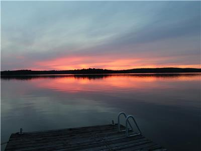 Great lot, great view of stunning Kennisis lake!