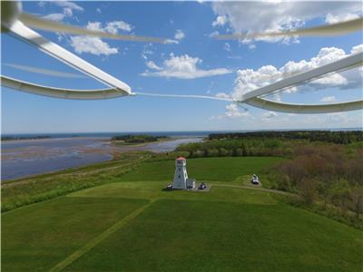 land and lighthouse for sale. Nova Scotia  Northumberland strait