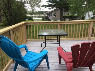 Water view Cottagw for rent (a louer)
