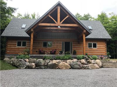 Chandos Lake- Log Home Living