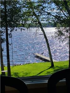 Fall/Winter Rate Specials- Beautiful Upper Buckhorn Lake Waterfront with Westerly Views!