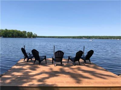 Thanksgiving & Fall Season availability - Beautiful Upper Buckhorn Lake Waterfront (4 season)