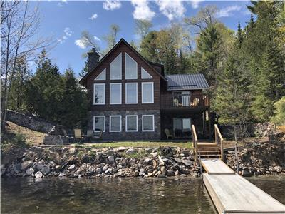 Its a Shore Thing! Two cottages on beautiful sandy Papineau lake!