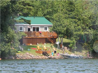Wolfe Lake Cottage Getaway located just minutes from the beautiful Village of Westport, Ontario