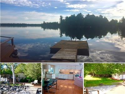 Crystal Lake 3-BR cottage on a large, level and very private lot (*10% OFF IF BOOKED BY APRIL 15*)