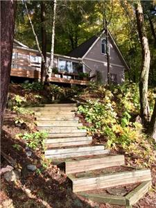 Serenity Bay Jr. Executive Cottage on Haliburton Lake *New Listing*