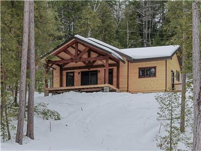 Lake Panache (Penage) Timberframe Cottage near Sudbury, ON  FOR SALE