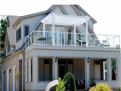 Upper Beach House, Cottage de luxe, lac Huron, fin d'une rue calme entre Grand Bend et Bayfield