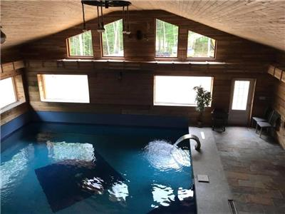 BEAVERS POND -INSIDE POOL, SAUNA AND SPA