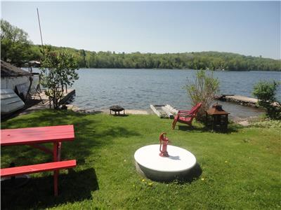 TRENT RIVER TREAT,WATERFRONT 3 BEDROOM  COTTAGE ON TRENT RIVER