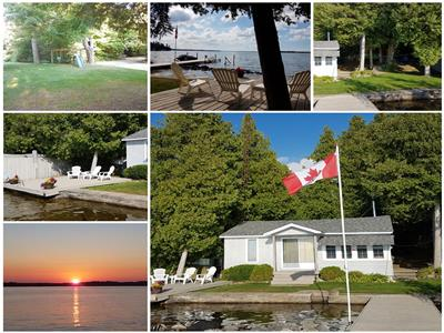 Balsam Lake Waterfront Cottage For Rent REDUCED RATES