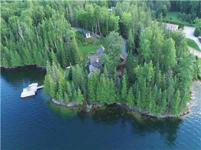 PACKAGE DEAL! TWO-WATERFRONT COTTAGES FOR SALE Mont St. Marie (HENEY LAKE)